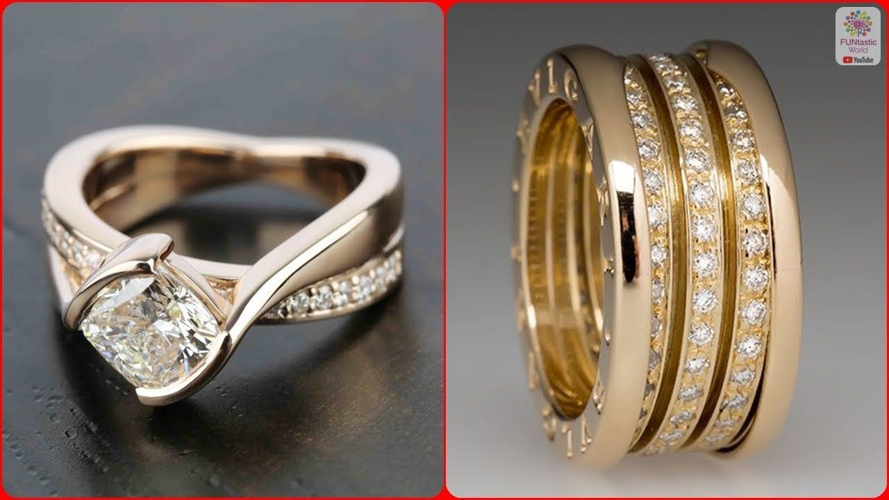 723bde4c6c Latest Gold Ring Designs | Rings Designs for Engagement | Daily Wear Gol.