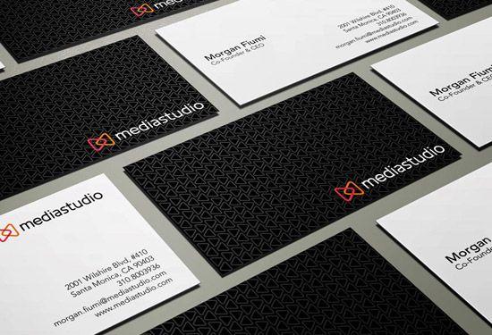 50 Fantastiques Designs De Cartes Visite