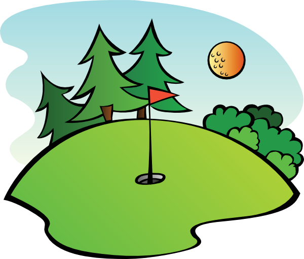 free cartoon golf clip art golf course clip art images sports rh pinterest com golf club clipart black and white golf club clipart black and white