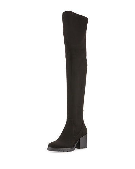 d39ed3743cc KENDALL + KYLIE SAWYER SUEDE OVER-THE-KNEE BOOT