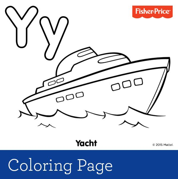 Y Is For Yacht Are You Cruising Off For A Family Vacation On The