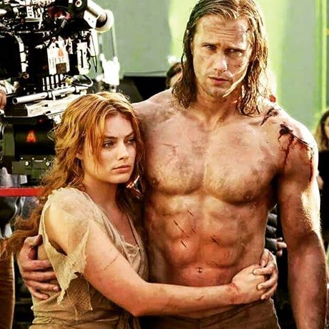 Bts The Legend Of Tarzan Alexander Skarsgard Tarzan Alexander Skarsgard Tarzan Movie