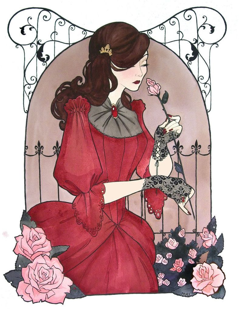 Roses and wrought iron by Noxfae.deviantart.com on @DeviantArt
