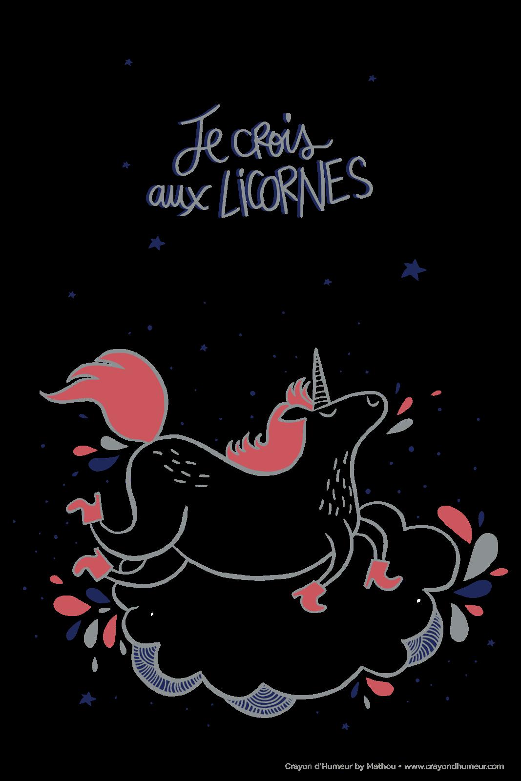 Mathou Fait Son Crayon D Humeur Citations Unicorn Drawings Et