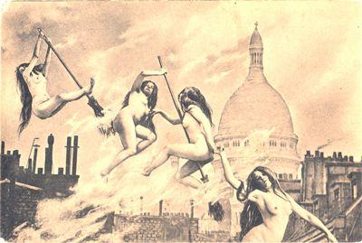 Witches' Sabbat in Paris, circa 1910