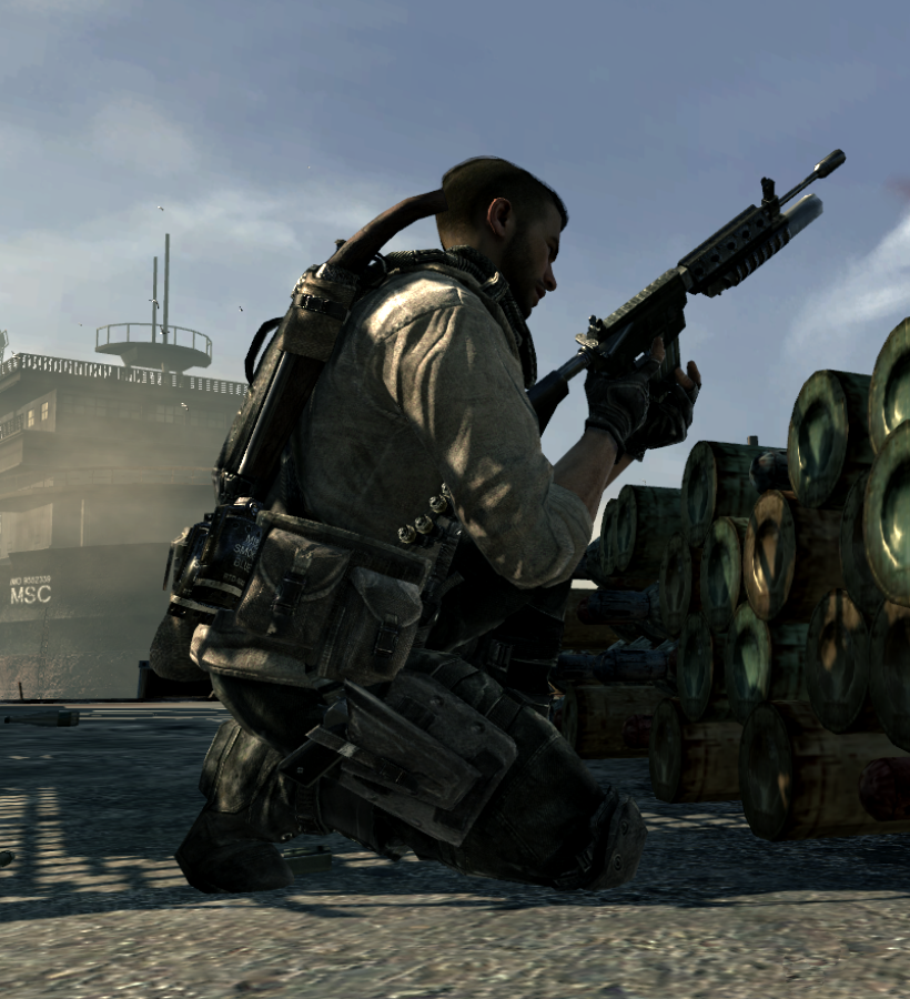 Call Of Duty Modern Warfare 3 John Soap Mactavish Task Force 141 Modern Warfare Call Of Duty Soldier