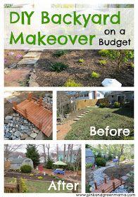 diy backyard makeover on a budget i can do it myself pinterest
