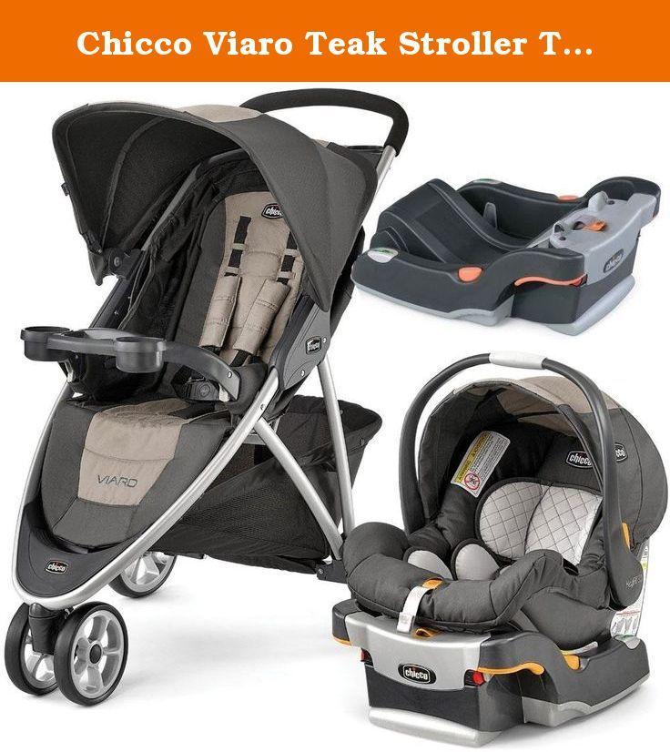 Chicco Viaro Teak Stroller Travel