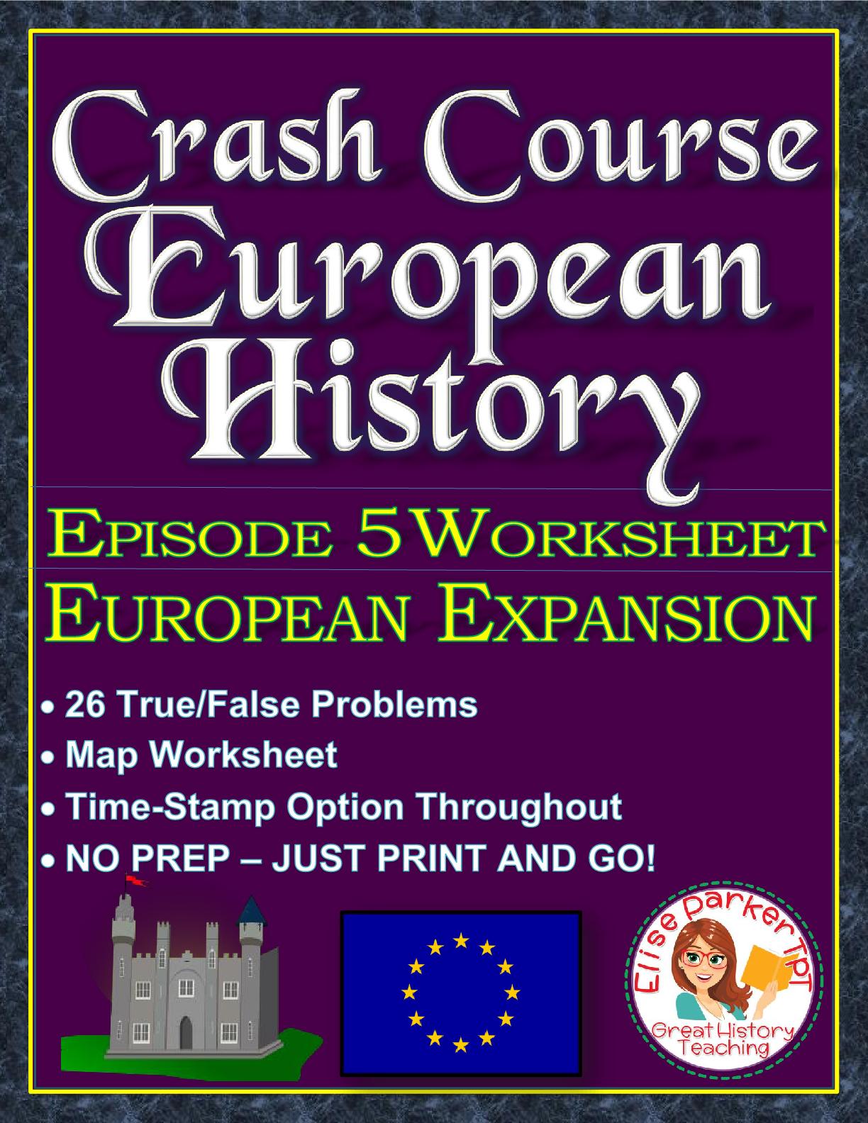 Crash Course European History Episode 5 Worksheet
