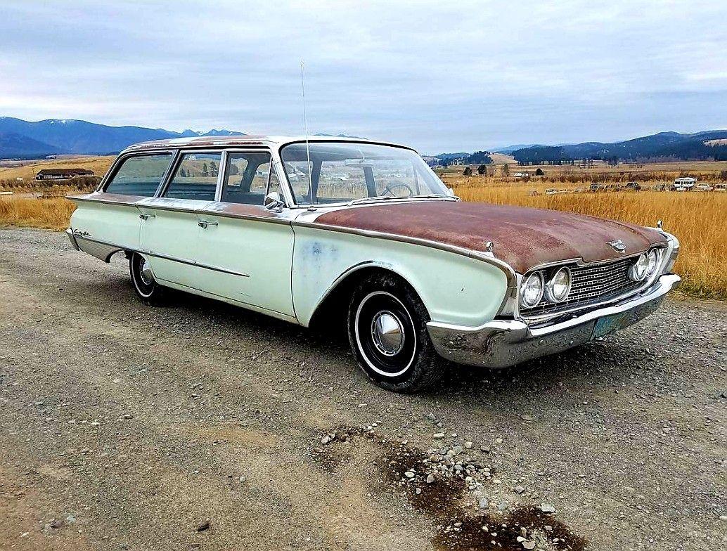 1960 Ford Country Sedan Station Wagon Beach Wagon Wagons