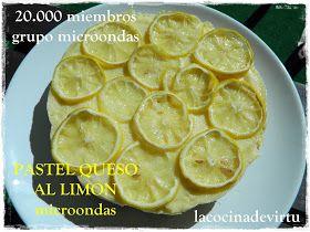 TARTA QUESO AL LIMON MICROONDAS celebración 20.000