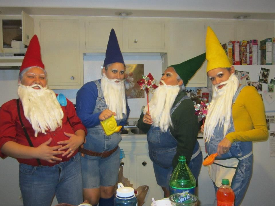 Lawn Gnome Group Costume diy in 2019