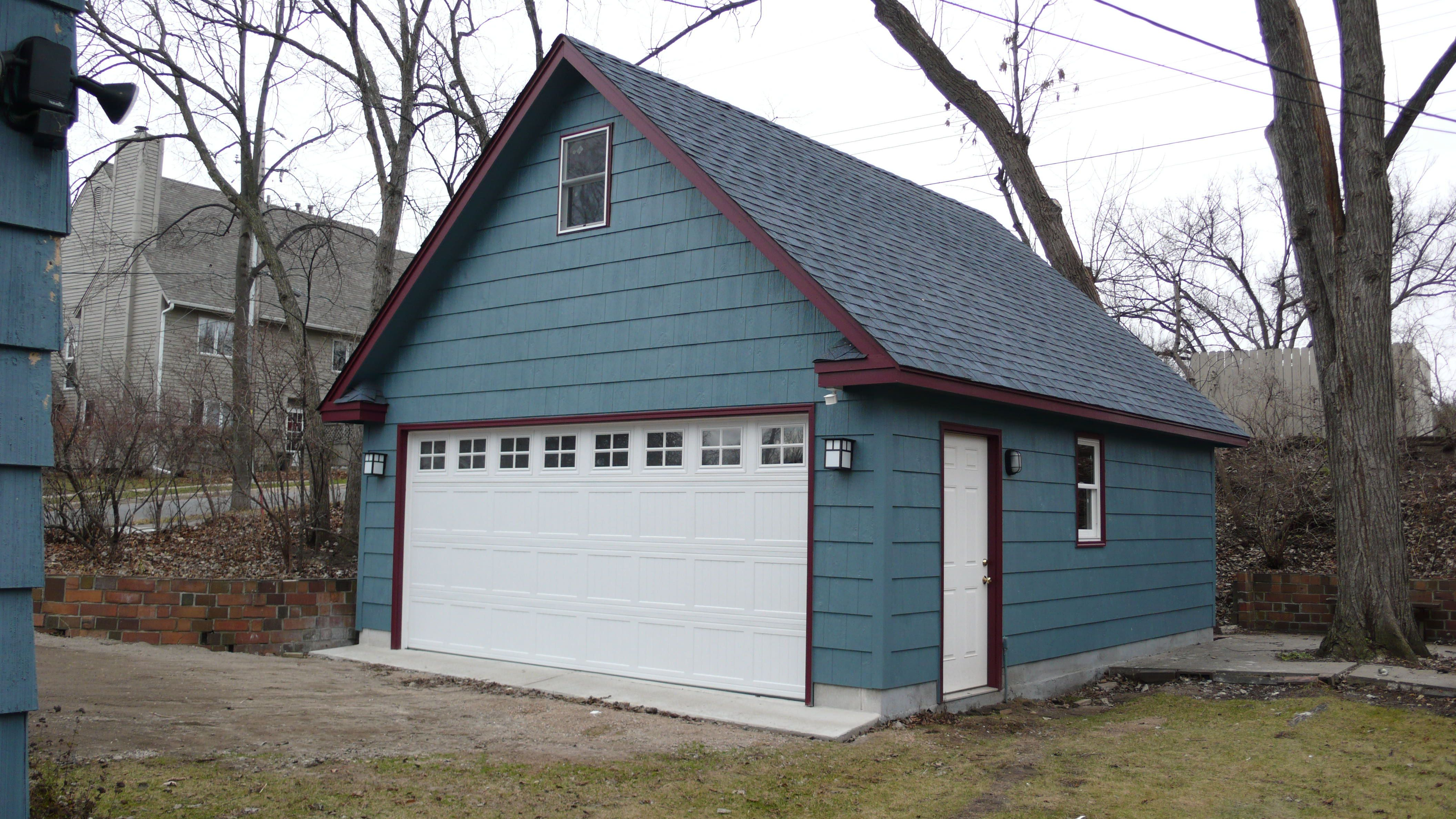 Minneapolis Two Story Garages Studio Pinterest – Two Story Garage Plans Free