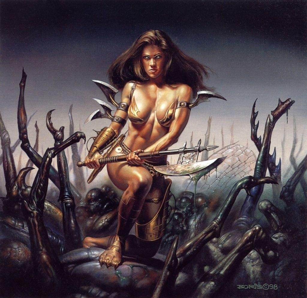 Картинки амазонки фэнтези