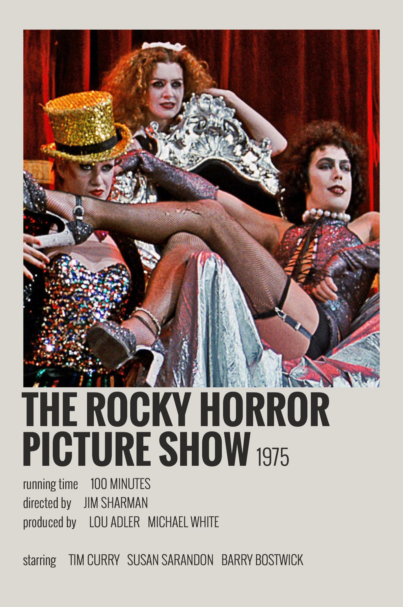 The Rocky Horror Picture Show By Maja In 2020 Iconic Movie Posters Film Posters Vintage Movie Poster Room