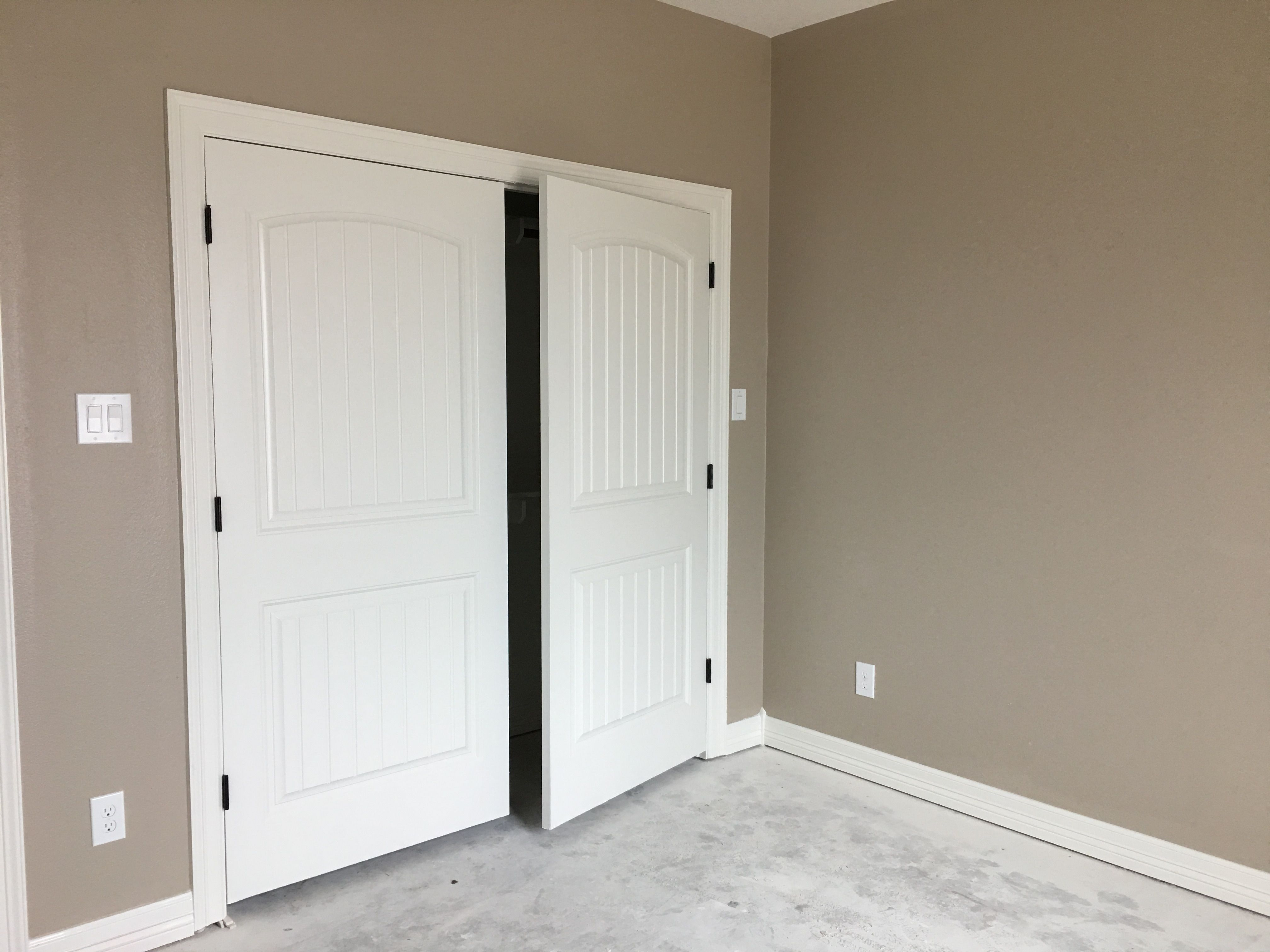 Sherwin Williams Alabaster And Balanced Beige Bedroom Paint