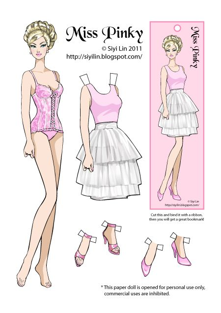 picture relating to Printable Barbie Paper Dolls titled The Producing of Paper Dolls: Obtain this Paper Doll for no cost