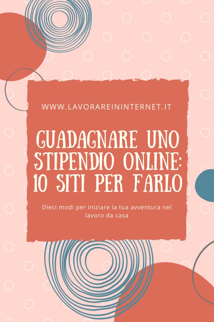 Guadagnare uno stipendio online 10 siti per farlo for Siti per arredare casa