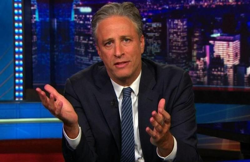 Jon Stewart Addresses South Carolina Shootings on 'The Daily Show'