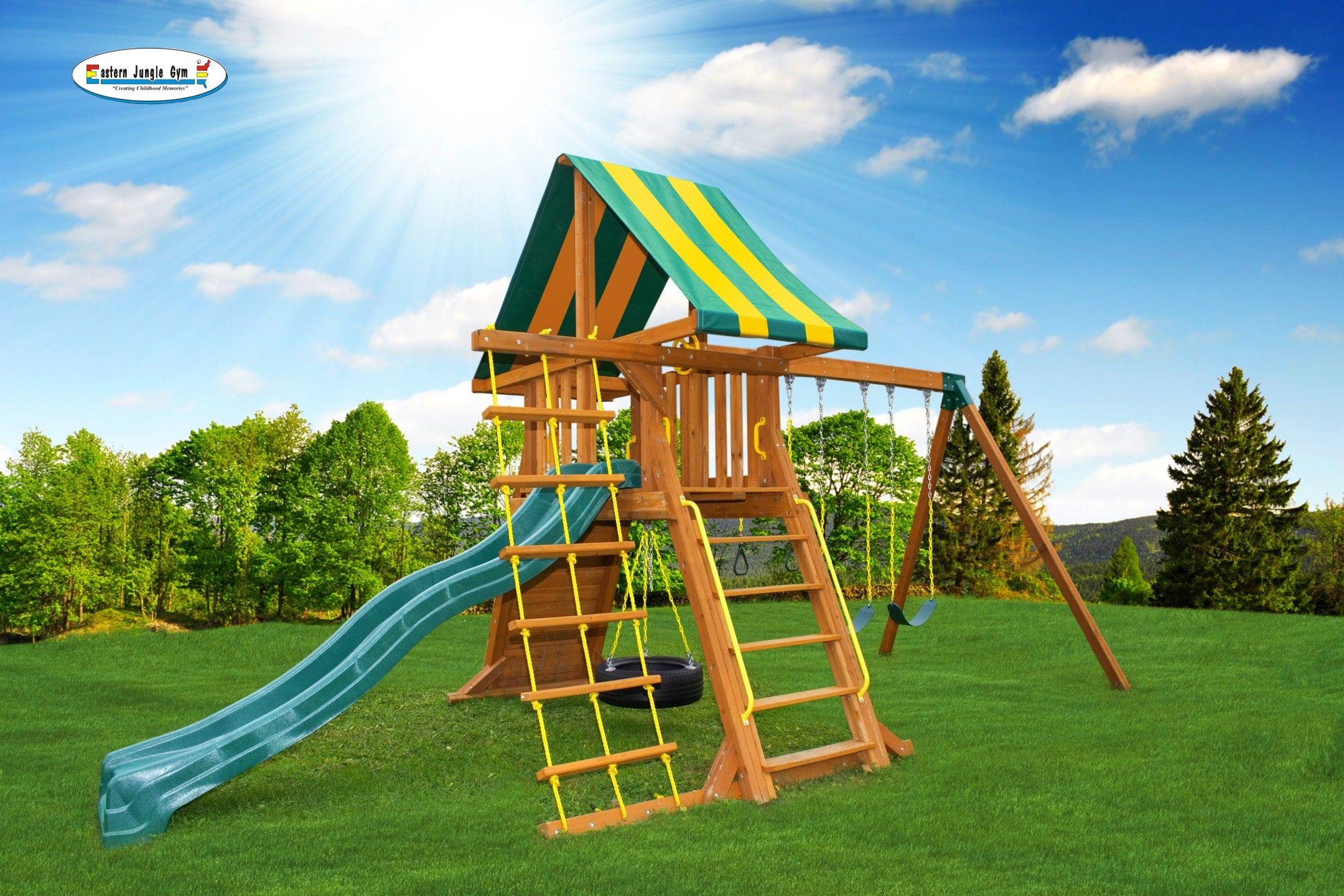 supremescape swing set 1 wooden swing sets pinterest jungle gym