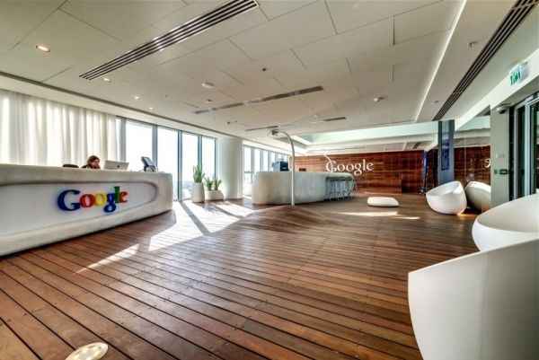 Moderne büroeinrichtung  Ultra moderne Büroeinrichtung im neuen Tel Aviv Office von Google ...