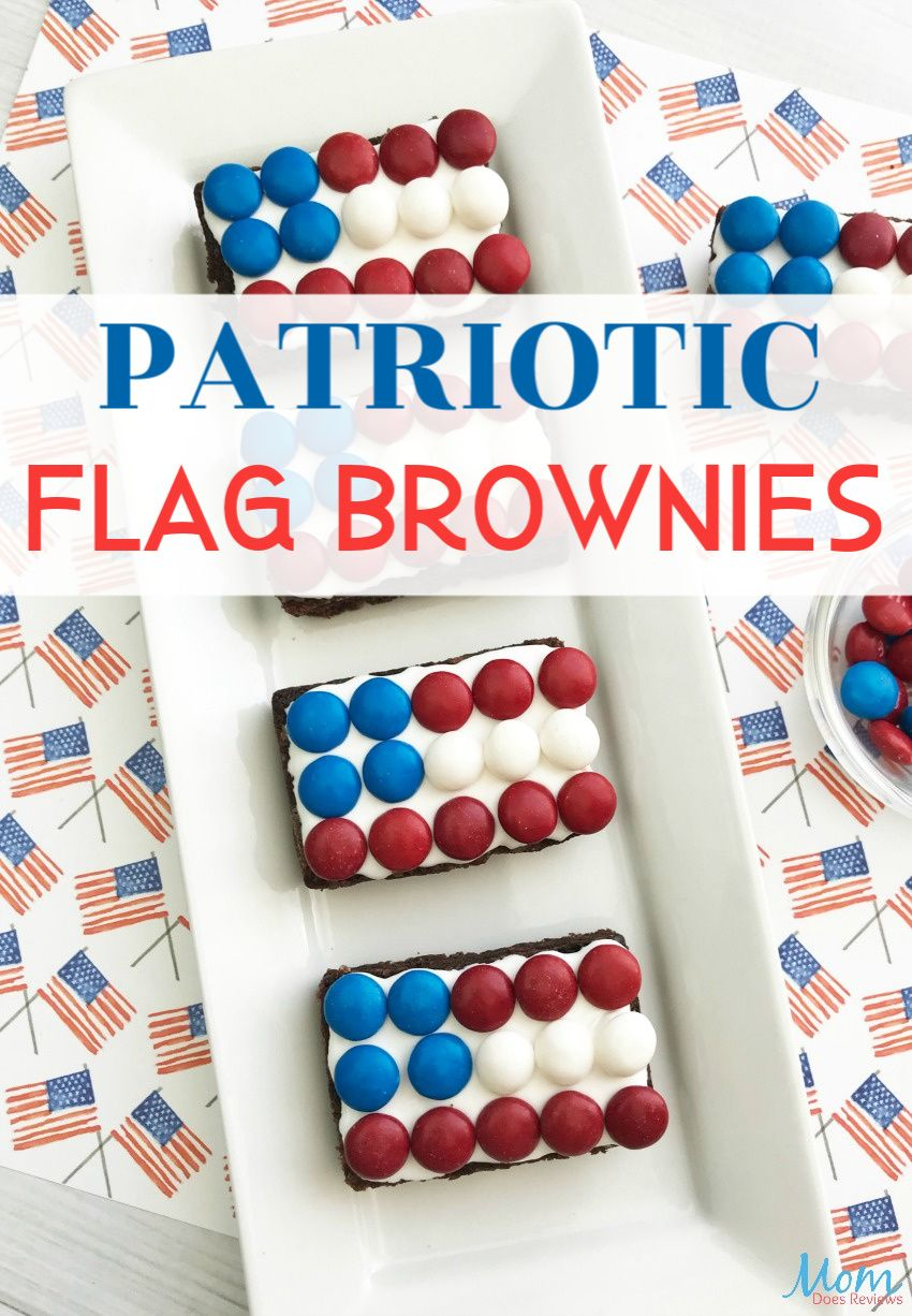 Patriotic Flag Brownies are Fun & Easy for Celebrations Patriotic Flag Brownies are Fun & Easy for