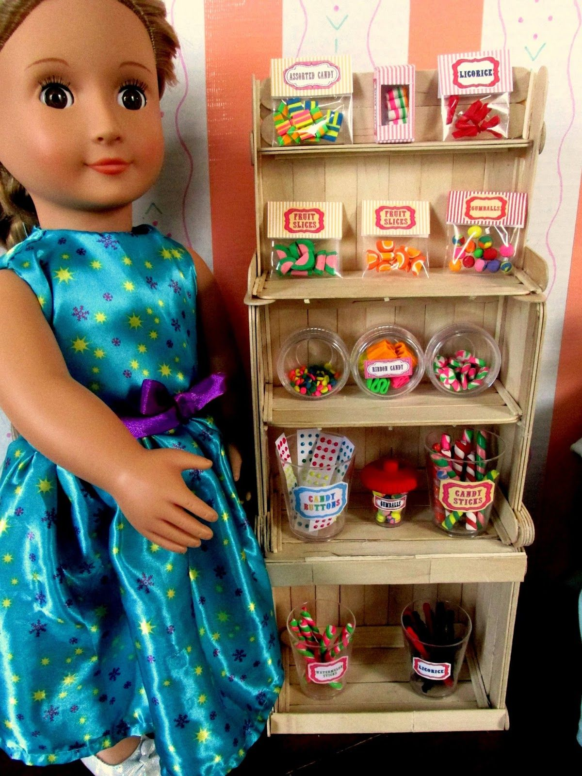 An announcement my american girl accessories etsy shop