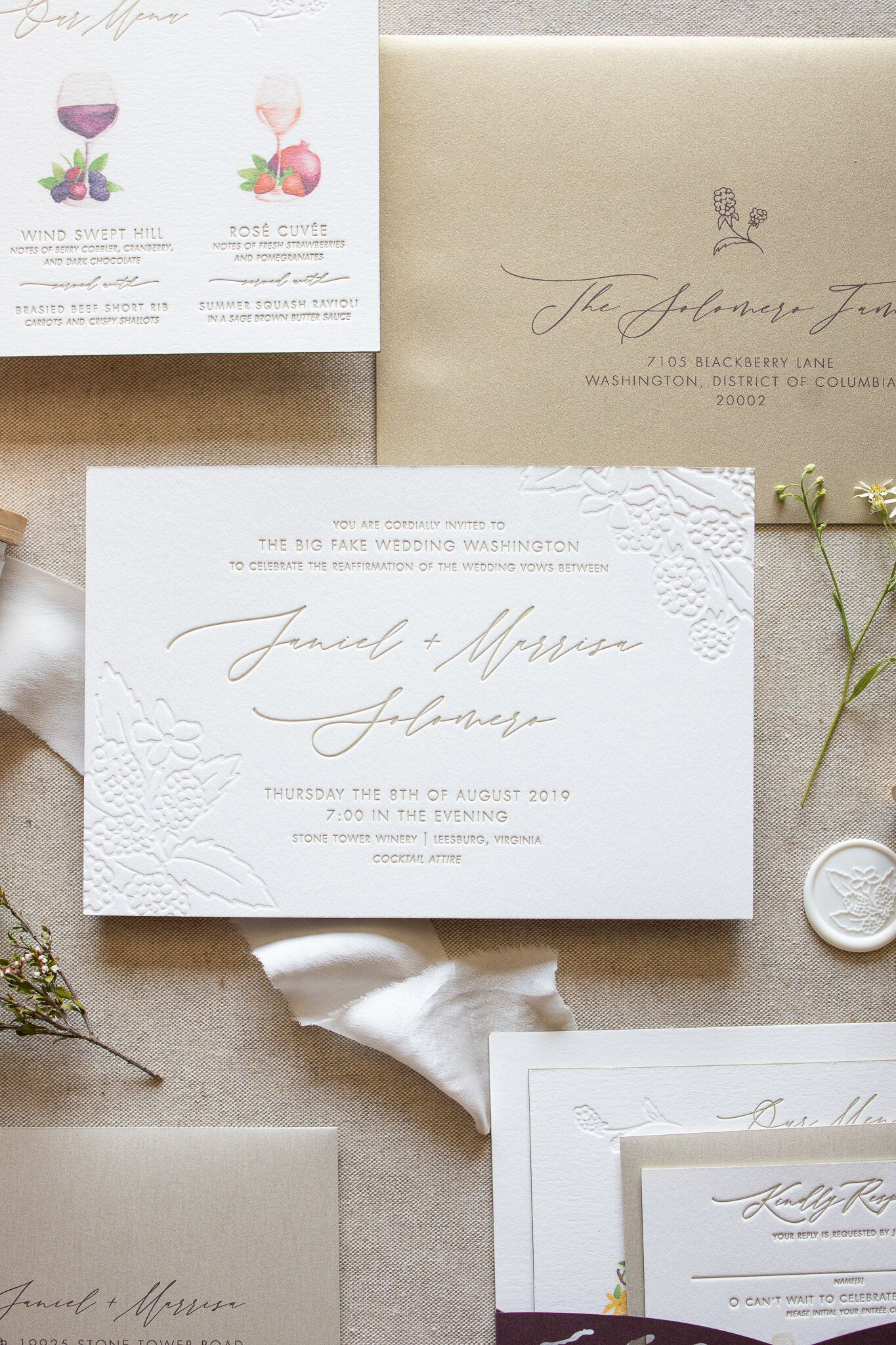 Type A S Guide To Printing Methods Type A Invitations Branding Embossed Wedding Invitations Printable Wedding Invitations Vintage Printing Wedding Invitations