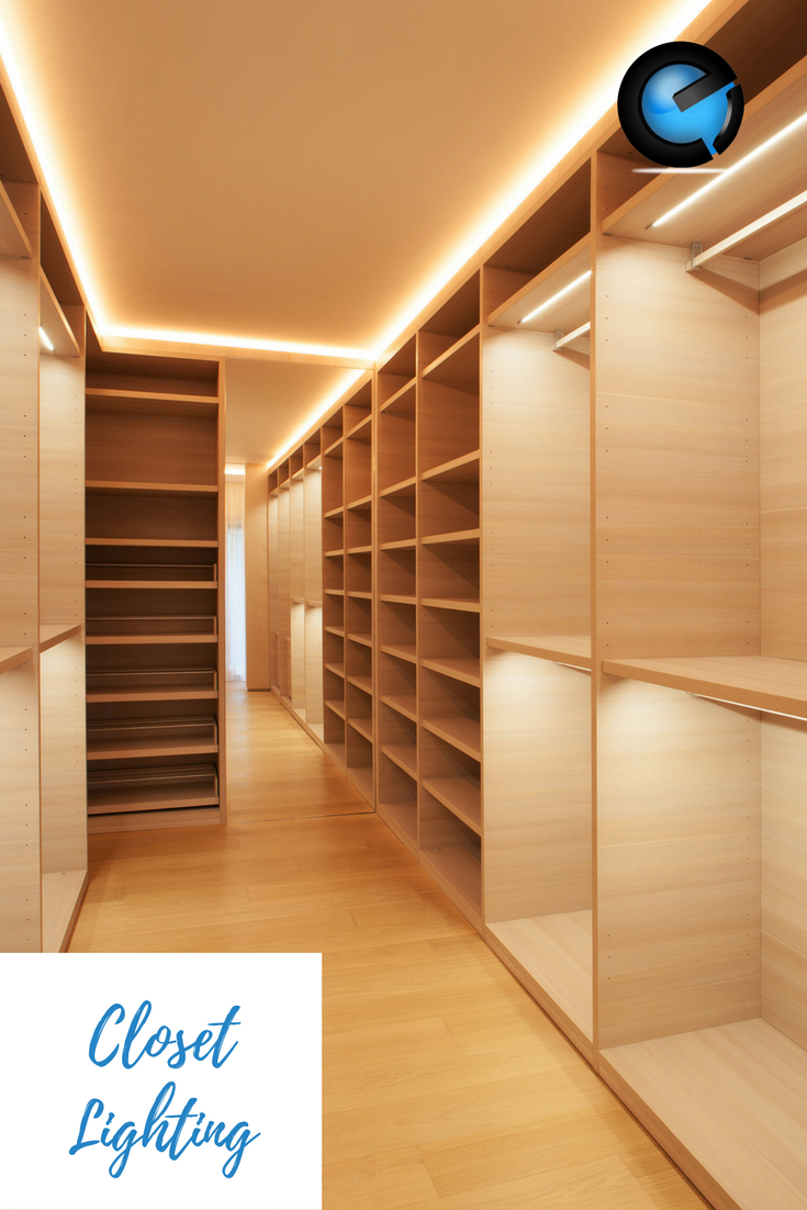 Adding Led Strips In Your Walk In Closet Can Transform It From An
