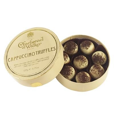 £12.00-Charbonnel et Walker Cappuccino Truffles. 135g. These cappuccino-flavoured white chocolate truffles are… | Truffles. Charbonnel et ...