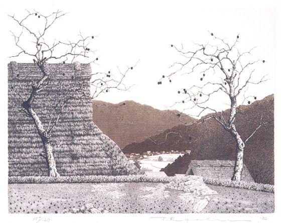 Tanaka Ryōhei (Japan, born 1933), Autumn, 1982, Gift of Thomas P. Dengler (AC1995.141.35), © Tanaka Ryohei