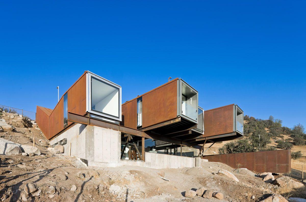 Casa Oruga, en Santiago de Chile - ARQA