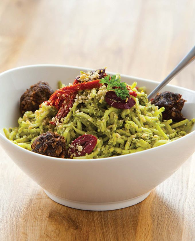 You wont even miss the cheese or the pasta promise raw vegan or the pasta promise zucchini pestorecipe zucchiniraw pesto recipevegan forumfinder Choice Image