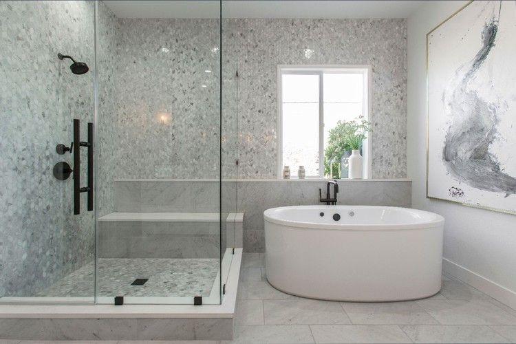 Alison Victoria S House Reveal Hgtv Master Bathroom Renovation Bathrooms Remodel The Block Bathroom