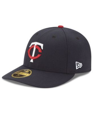 buy online 2f649 237a4 New Era Minnesota Twins Jackie Robinson Day Low Profile 59FIFTY Fitted Cap  - Blue 7 1 2