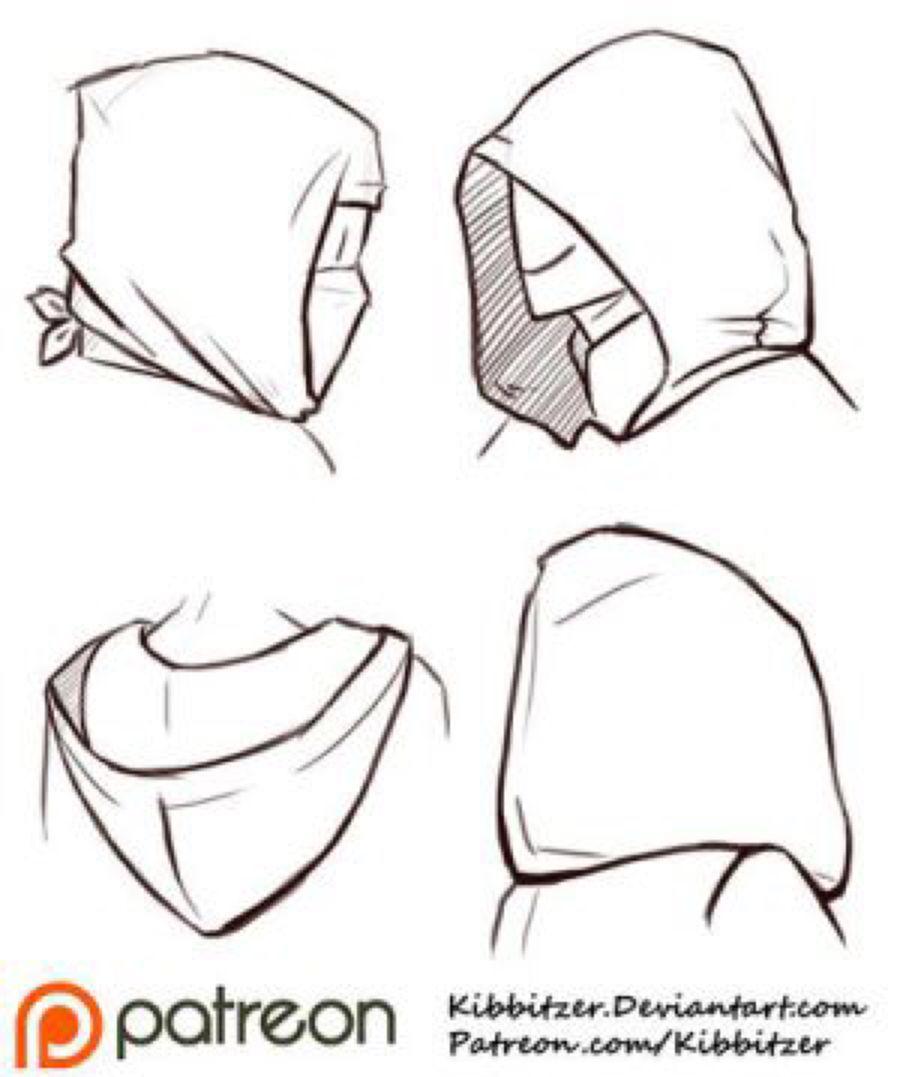 Hoods Reference Sheet by Kibbitzer on @DeviantArt