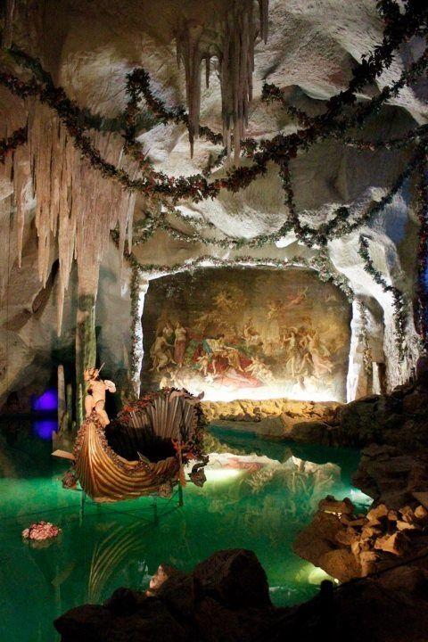 The Grotto At Schloss Linderhof Bayern Deutschland Via Mary Pat Taylor