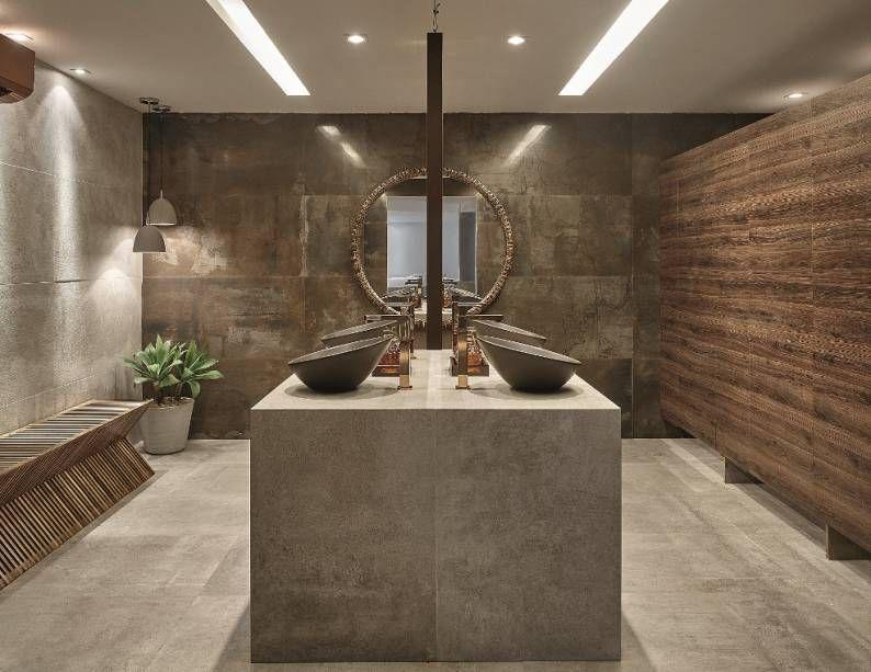 Os espelhos geralmente são utilizados para maximizar espaços, mas também têm seu aspecto decorativo. Confira 62 ideias da CASA COR 2015 para utilizar o adereço no décor!
