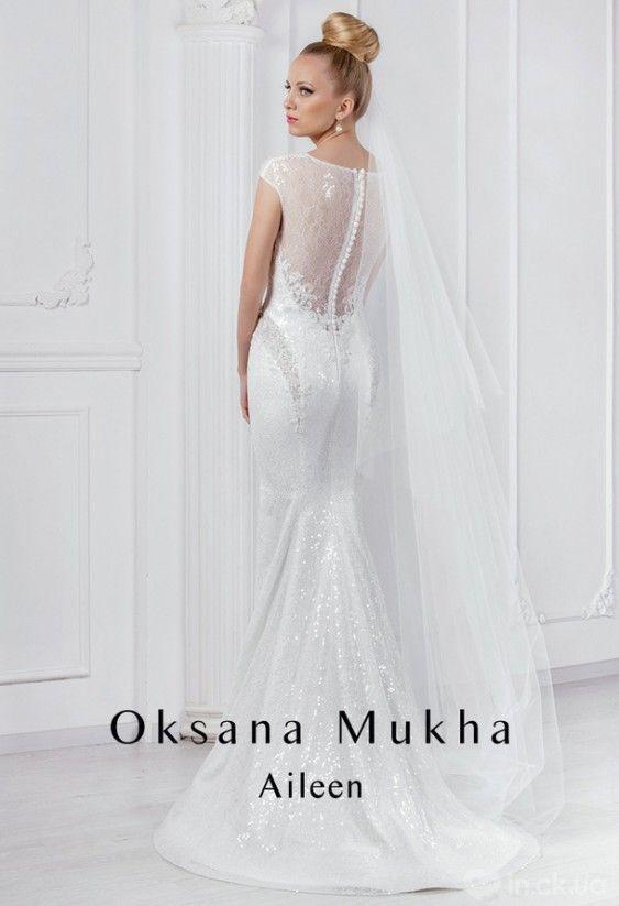 f9e9423817c27b Дизайнер Оксана Муха (Oksana Mukha). Колекція весільних суконь Deluxe 2016.  Aileen