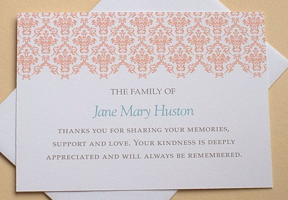 How to Word Sympathy Thank You Cards Ideas Thank You Cards Pinterest - best of sample invitation letter kosovo
