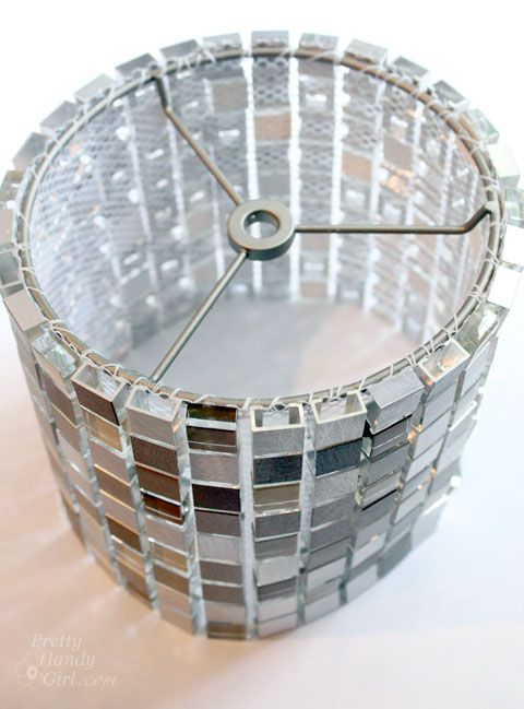 How To Make A Mosaic Tile Lamp Shade Lowes Creator For