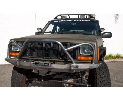 Manta Ray Front Winch Bumper No Hoop Jeep Xj Mj