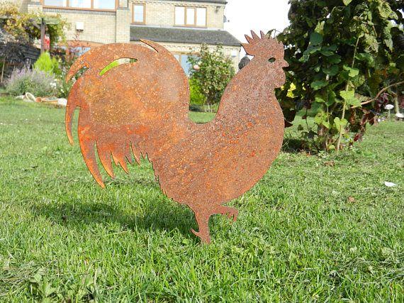 Bird Ornament Ornamental Garden Decorative Cockerel