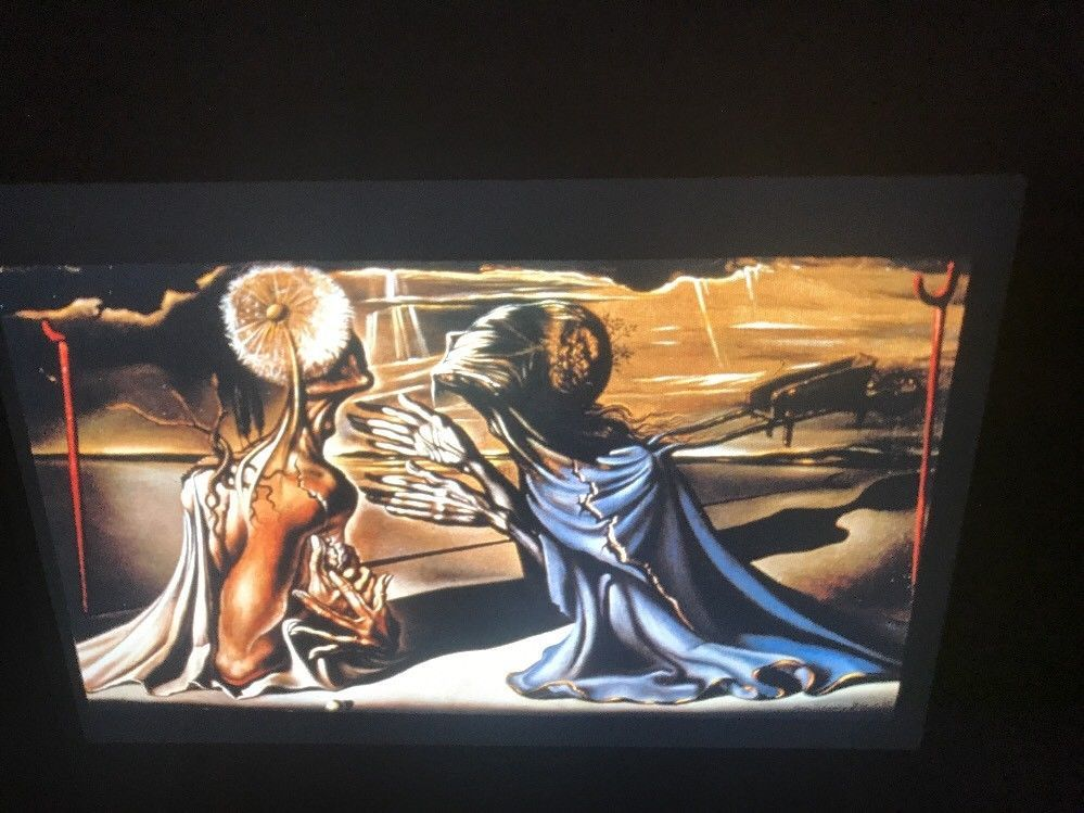"Salvador Dali ""Tristan & Solde""Surrealist 35mm Art Slide"