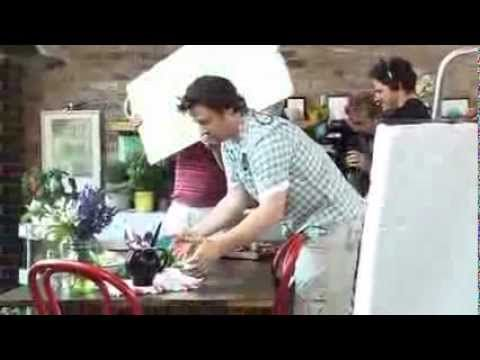 The man is a LEGEND -Jamie Oliver's 30-Minute Meals - Behind the scenes