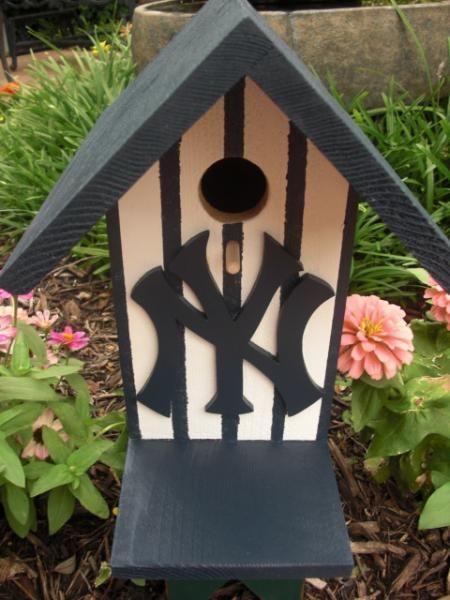 Birdhouse New York Yankees By Abcbirdhouses