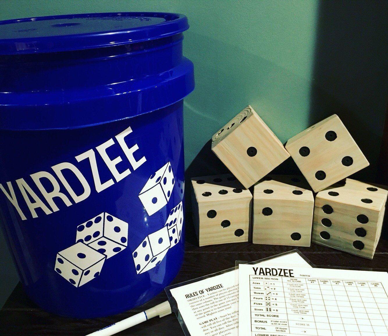 Yardzee Yardzee Game summer game fathers day gift Etsy