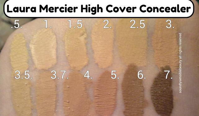 laura mercier high coverage concealer