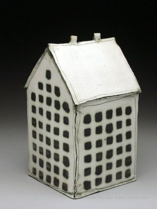 Artpropelled Mary Fischer In 2020 Pottery Houses Ceramic Houses