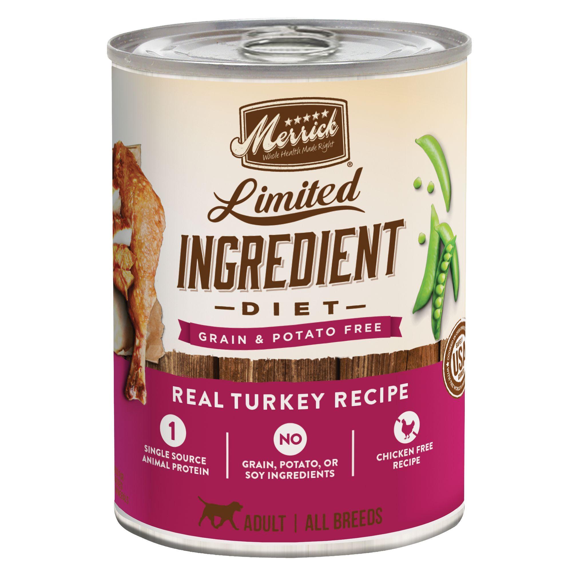 Merrick Limited Ingrediet Diet Adult Dog Food Natural Grain